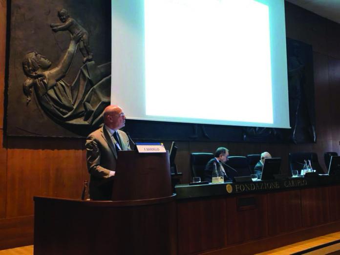 Il professor Francesco Bandello in occasione San Raffaele OCT & Retina Forum
